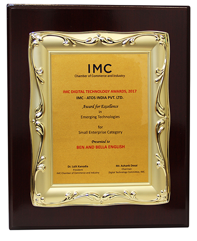 the IMC Digital Technology Award 2017